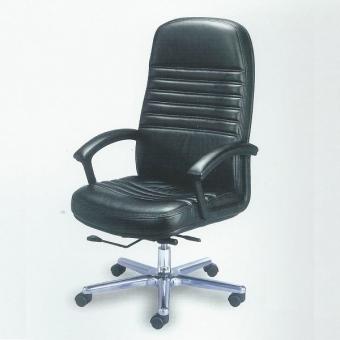 Cara SL-A17 高級大班椅 (黑色半真皮)