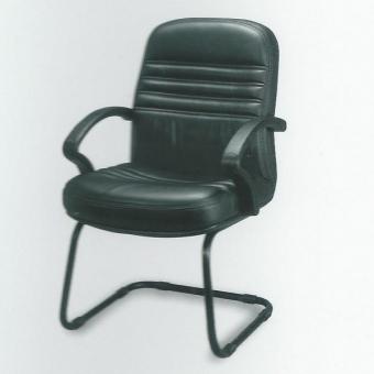Cara SL-A19 高級訪客座椅 (黑色半真皮)