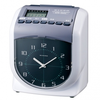 Nippo NTR-2600 電子咭鐘機(雙色機)
