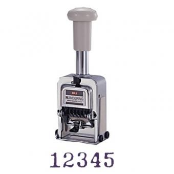 Max N-504 跳字號碼機 (5位數)