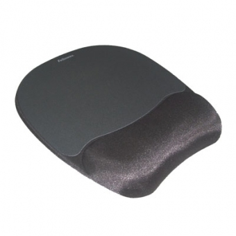 Fellowes Memory Foam Mouse Pad With Wrist Rest 記憶凝