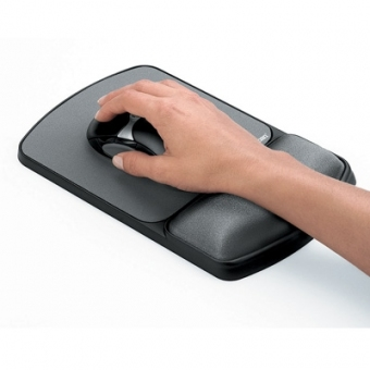 Fellowes Microban® Comfort Gel Wrist Rest & Mouse