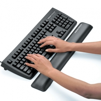 Fellowes Microban® Comfort Gel Wrist Rest 防菌長形啫喱手腕