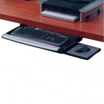 Fellowes Deluxe Keyboard Drawer 高級鑽檯式鍵盤托 - FW 8031