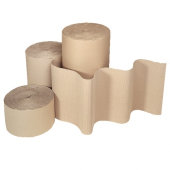 瓦通紙卷 48吋(高) x 24吋(直徑) 坑紙 - Corrugated Paper Roll