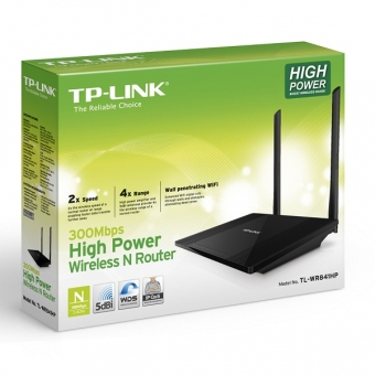 TP-Link TL-WR841HP (300M) 2T2R High Power Wireless