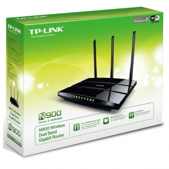 TP-Link TL-WDR4900 (N900) (450M+450M) Wireless Dua