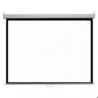 70吋 x 70吋 掛牆式 手拉投影屏幕 Wall Mounted Manual Projector