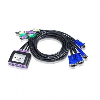 Aten CS64A KVM Switch (4組PS/2)多電腦切換器 - 輸出 VGA