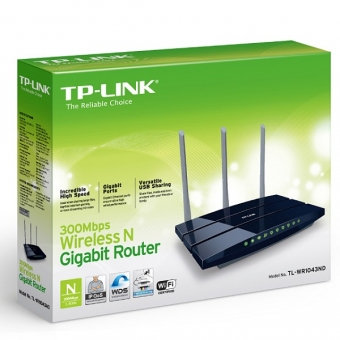 TP-Link TL-WR1043ND V-2 (300M) Wireless N Gigabit