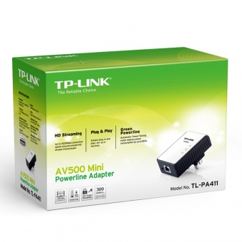 TP-Link TL-PA411 (500M) AV500 Mini Powerline Adapt