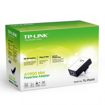 TP-Link TL-PA411 (500M) AV500 Mini Powerline Adapt
