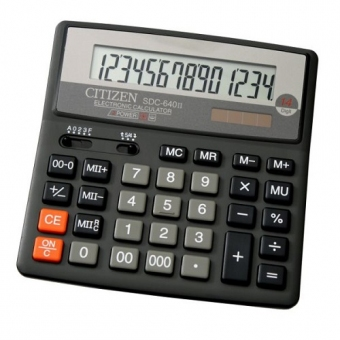 Citizen SDC-640II 計數機