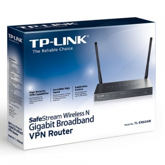 TP-LINK TL-ER604W SafeStream Wireless N Gigabit Br