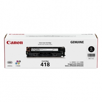 Canon CRG-418B (原裝) (3.4K) Laser Toner - Black For