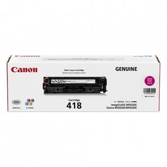 Canon CRG-418M (原裝) (2.9K) Laser Toner - Magenta F