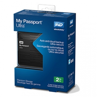 WD My Passport Ultra 2.5 吋 USB3.0 外置硬碟 4TB