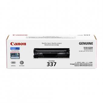 Canon Cartridge-337B (原裝) (2.4K) Laser Toner - Bla