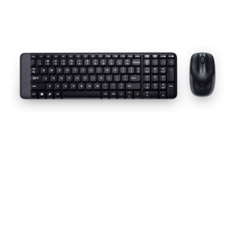 Logitech (MK220) 無線Keyboard+Mouse套裝 - #920-003237