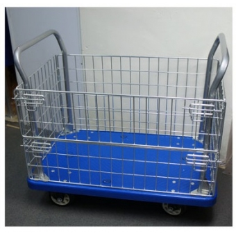 網籠手推車 L880 X W590 X H850MM (承重量:300kg) - S8925