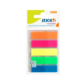 Stick'n (5色) 膠面報事貼標籤 21050