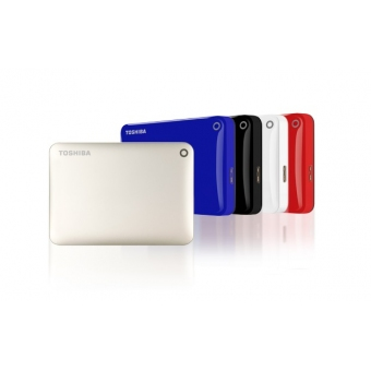 Toshiba CANVIO CONNECT II (V8) 2.5  USB3.0 藍色1TB