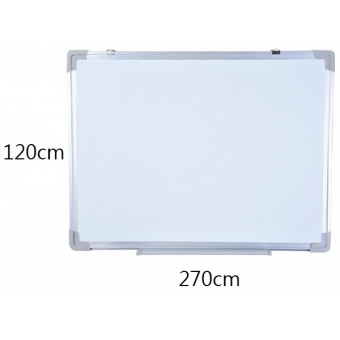 FAX88 鋁邊磁性白板 120cm(H) x 270cm(W)