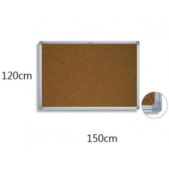 FAX88 鋁邊水松板 120cm(H) x 150cm(W)