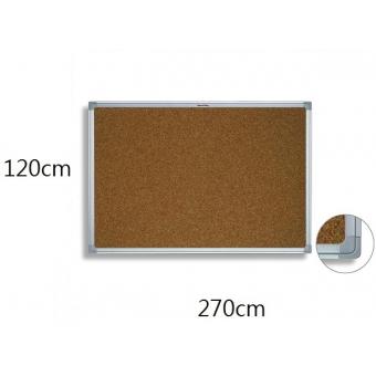 FAX88 鋁邊水松板 120cm(H) x 270cm(W)
