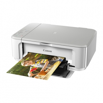 Canon PIXMA MG 3670 (3合1) (Wifi) (雙面打印) 噴墨打印機 白色