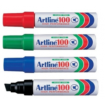 Artline 100 箱頭筆 (斜咀) 7.5-12mm