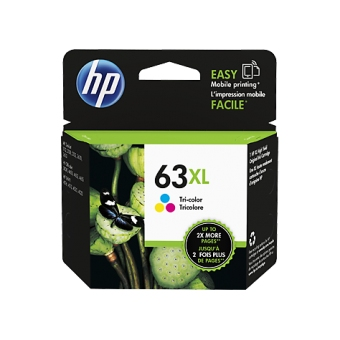 HP F6U63AA (63XL) (原裝) (330pages) Ink Color