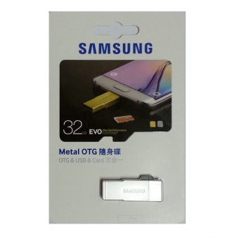Samsung 32GB Metal OTG USB3.0/2.0 Card (3合1) USB 手