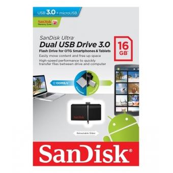 SanDisk Ultra 16GB Dual USB Drive 3.0 #SDDD2-016G-